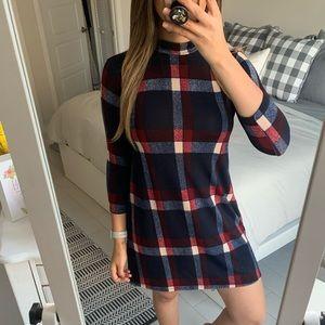 Fantastic Fawn plaid dress